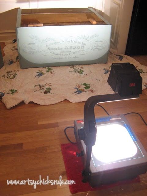 Dresser Image Transfer During artsychicksrule.com