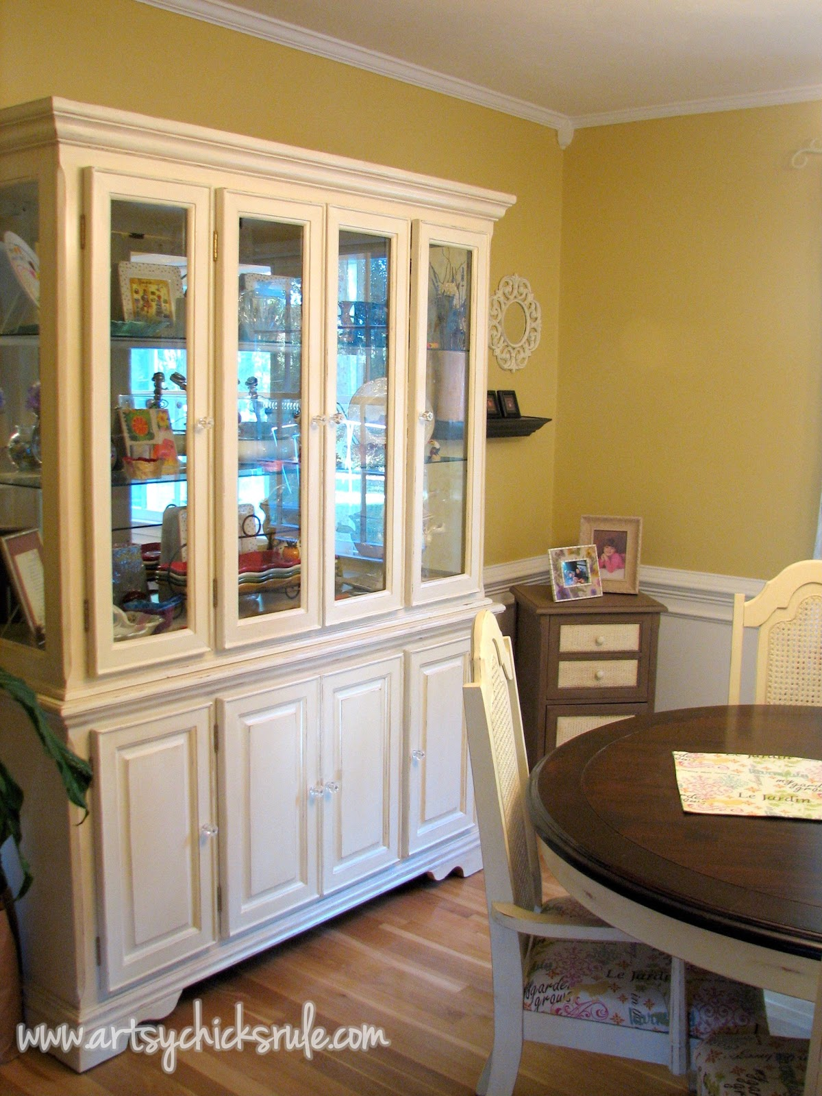 China Cabinet And Table Re Do Artsychicksrule
