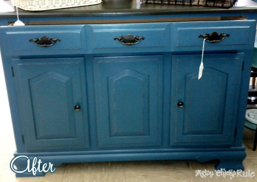 $10 Aubusson Blue Hutch