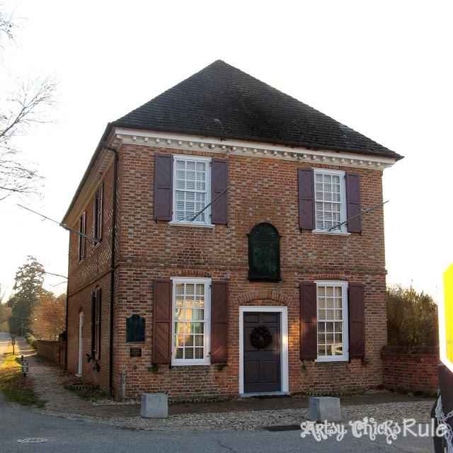 The Custom House, Yorktown, VA - artsychicksrule.com