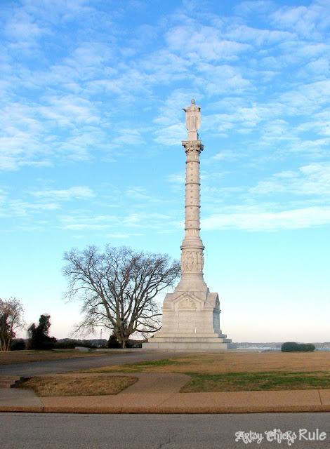 Yorktown Monument, Yorktown, VA - artsychicksrule.com