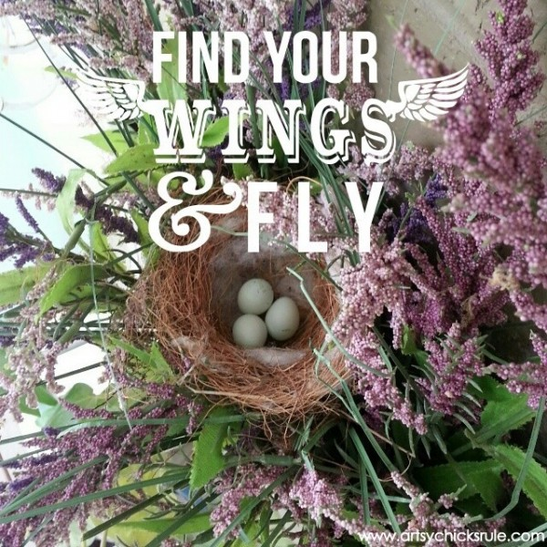 Find Your Wings & Fly  - Quote - Saying - Poem - artsychicksrule.com #sign #quote #saying