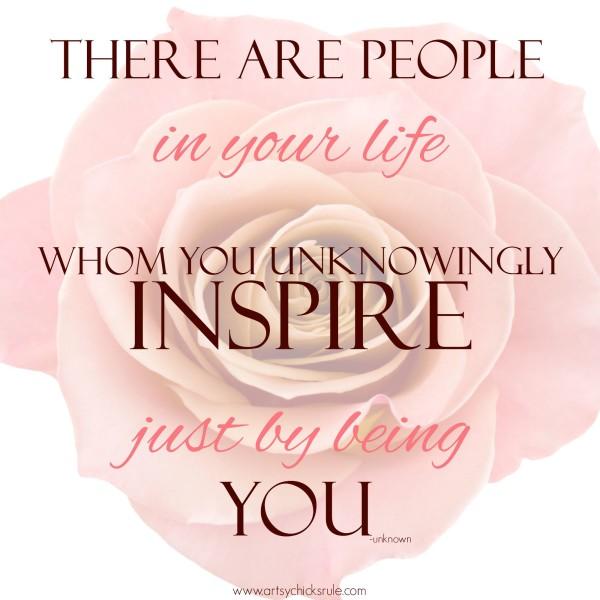 Inspire Quote - artsychicksrule.com
