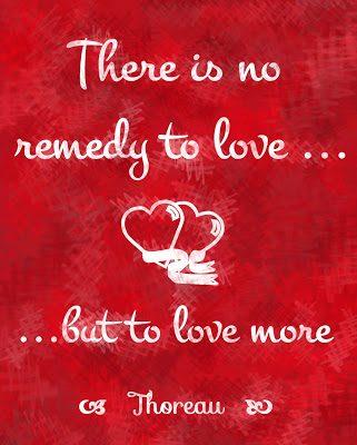 Valentine's Day Love….More Free Printables