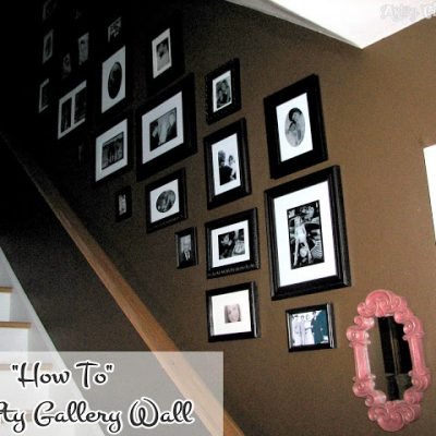 """A Gallery Wall…the """"Thrifty"""" Way"""