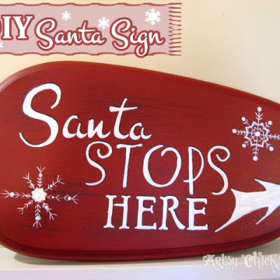 Santa's Coming to My House, the Sign Says So!!
