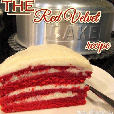 Old Family Recipe, the REAL Red Velvet Cake Recipe