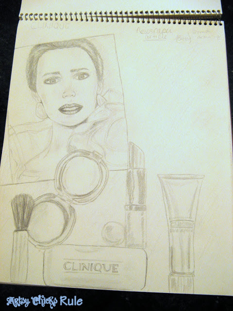 "Drawing... A Little About My ""Artsy"" Past / Artsy Chicks Rule"