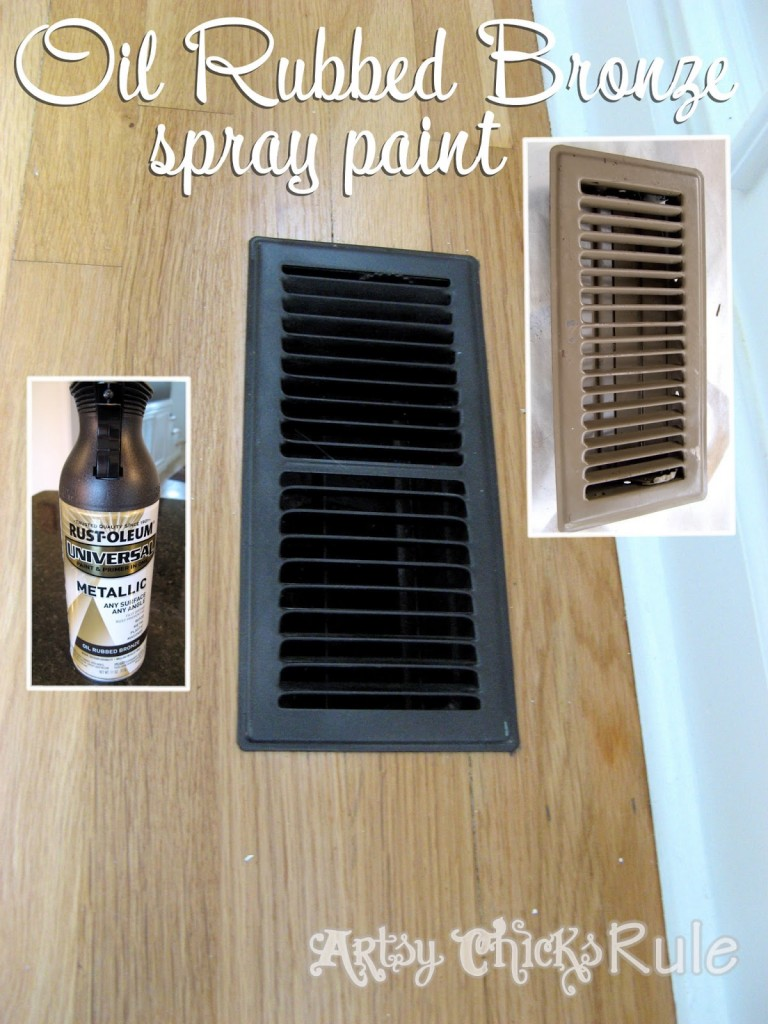 """Oil Rubbed Bronze Spray Paint - The """"miracle"""" product!"""