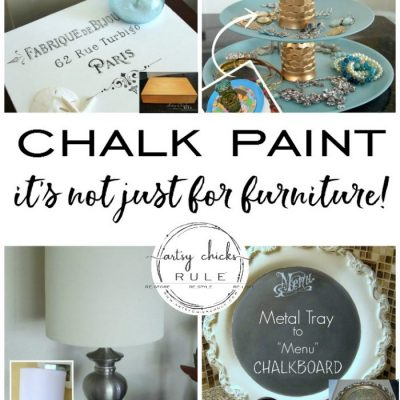 Annie Sloan Chalk Paint…. It's Not Just For Furniture (paint all the things!)
