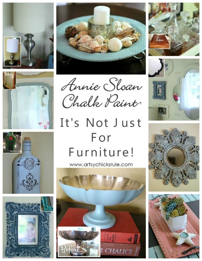 Can You Use Chalk Paint On Mirror