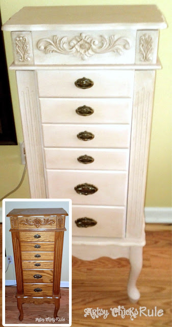 A Collection of Before & After Furniture Pieces!! artsychicksrule.com #chalkpaintedfurniture #paintedfurniture #chalkpaint# anniesloanchalkpaint #beforeandafterfurniture #furniturewithchalkpaint