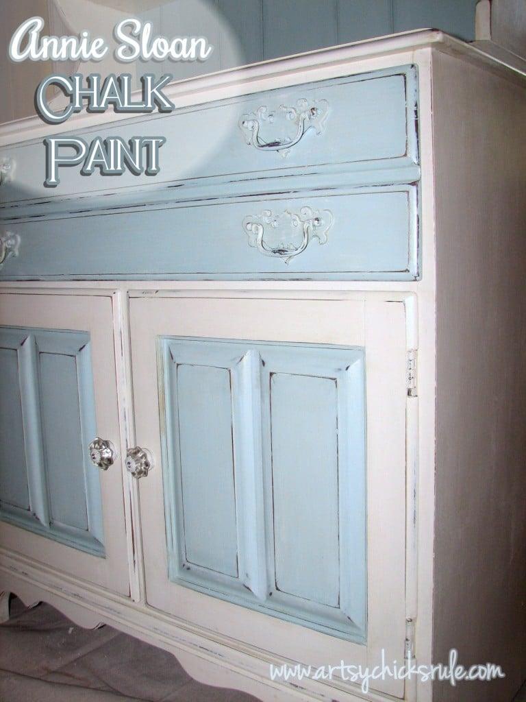 Annie Sloan Chalk Paint Blue Hutch