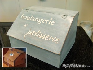 Bread Box Makeover Before-After