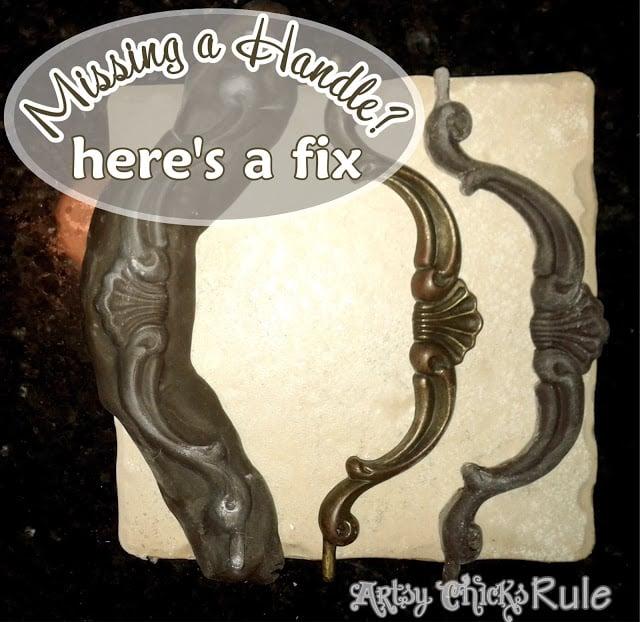 Missing Hardware - Here's a fix - Make one to match artsychicksrule.com #missinghardware