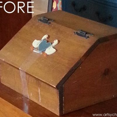 Old Bread Box Transformed (Best of Archives)
