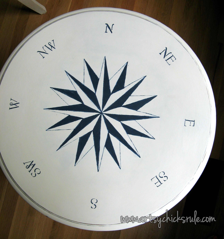Super Simple (it Looks Complicated, Itu0027s NOT!) Compass Rose!
