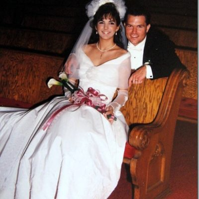 Happy Anniversary to Me! (and my hubby-25 years today!)
