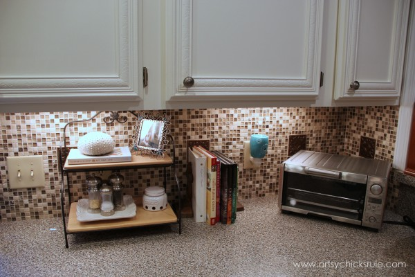 Kitchen Tile Backsplash   Complete Artsychicksrule.com #backsplash #tile # Diy