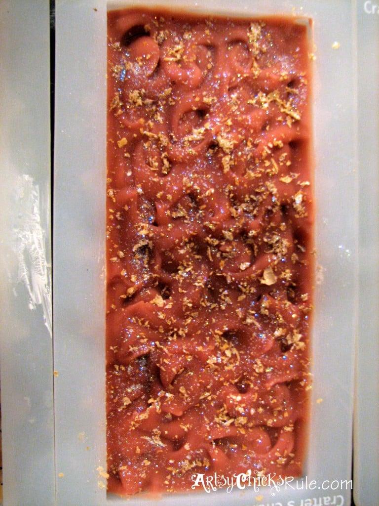 Natural Soap Making - Grapefruit Ginger artsychicksrule.com #soapmaking #coldprocesssoap