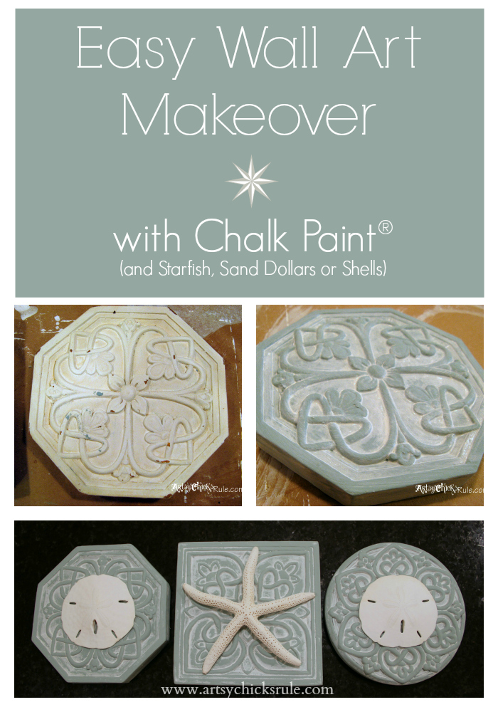 EASY Wall Art - Makeover with Chalk Paint