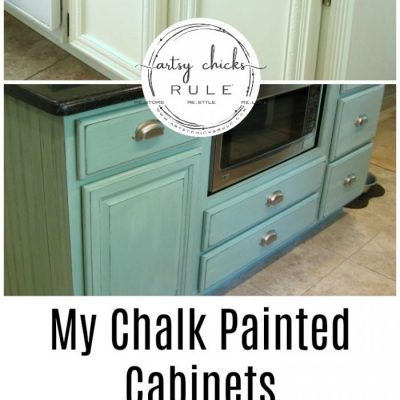 My Chalk Painted Cabinets (4 years later-how did they do!?)