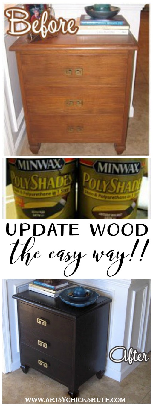 Update Wood The Easy Way Wow This Is Great