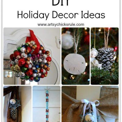 Easy DIY Holiday Decor Ideas {how-to}