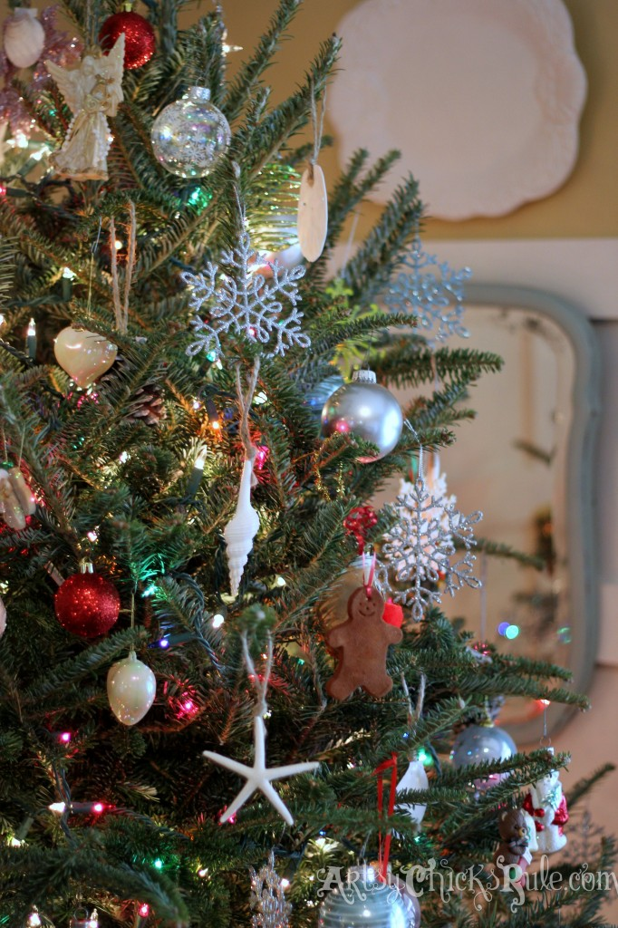 Christmas Tree Up Close - Holiday Home Tour