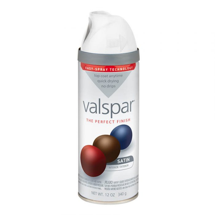 Valspar White Spray Paint