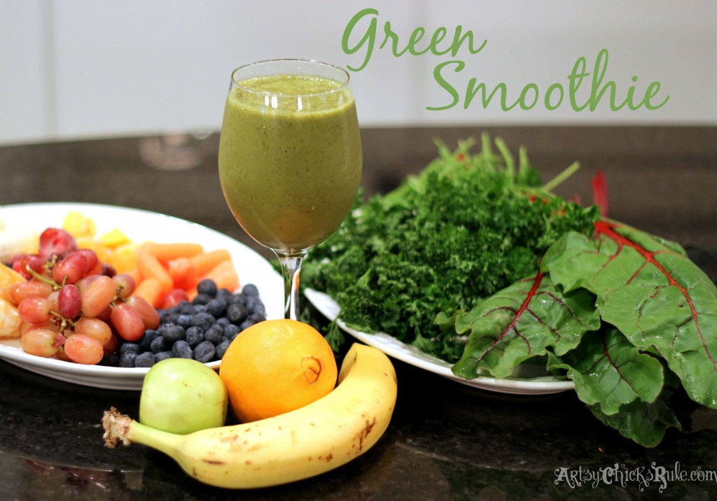 Green Smoothie - freeze ahead for easy blending!