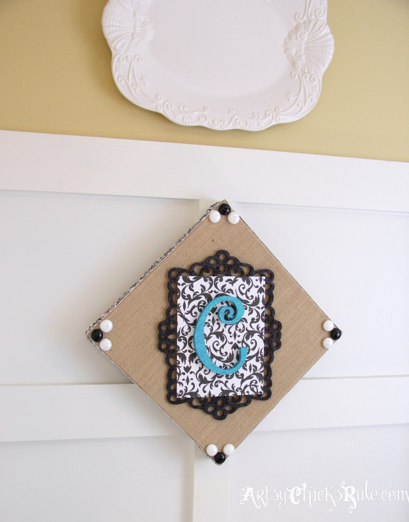 Burlap Monogram Hanging1-Michael's-Hometalk Pinterest Party
