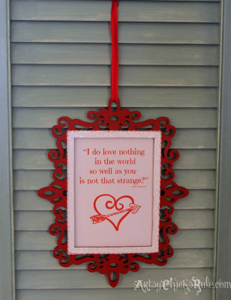 Simple & Fun Valentine's Day Craft - Finished