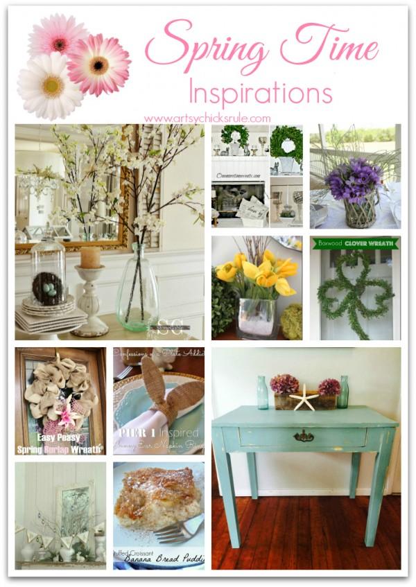 Spring Time Inspirations - artsychicksrule.com