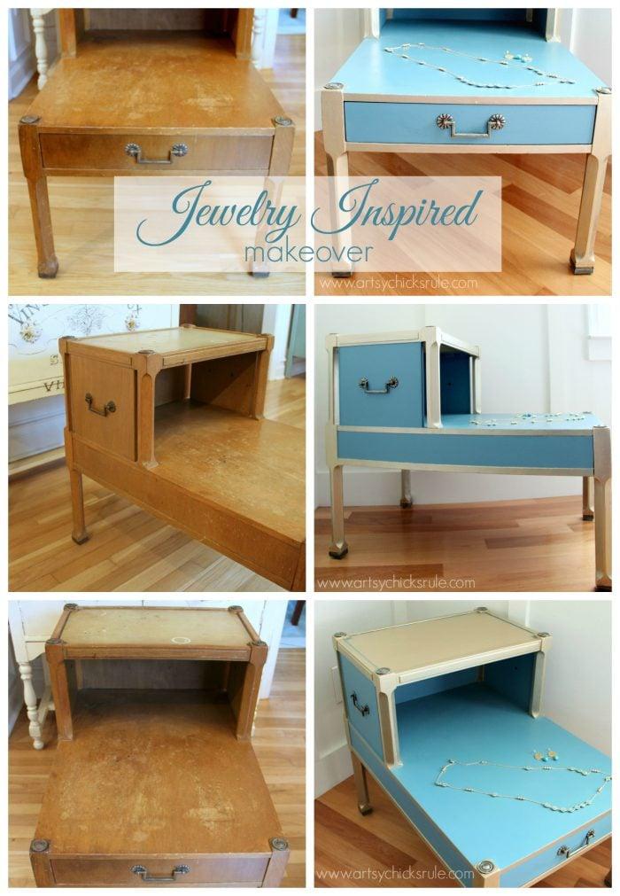 DIY Chalk Paint Desk Makeover - YouTube