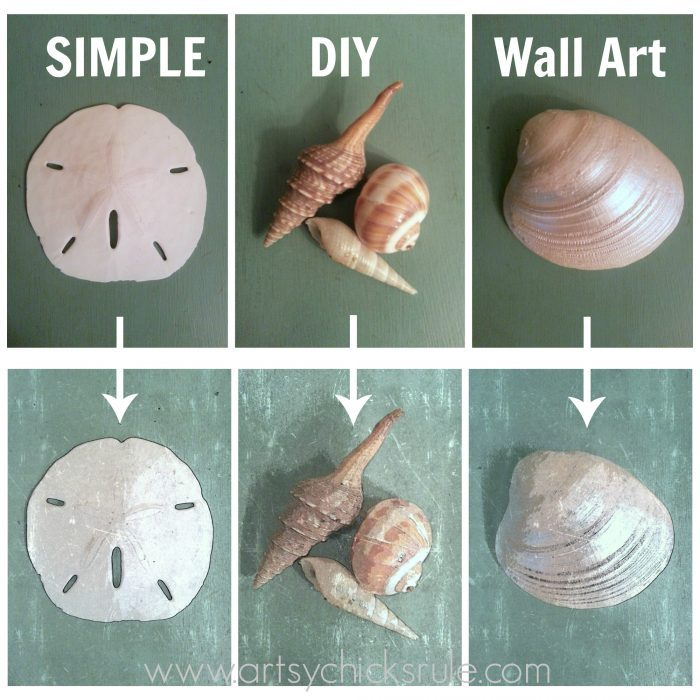 SIMPLE DIY Coastal Wall Art Tutorial!! (take a photo, use a watercolor app, voila! Instant wall art!) Easy, budget friendly home decor! artsychicksrule.com #coastalwallart #diywallart #diyhomedecor #coastalstyle #coastalhomedecor #coastaldiy #beachart #seashellart #seashellmakeover #seashellcrafts