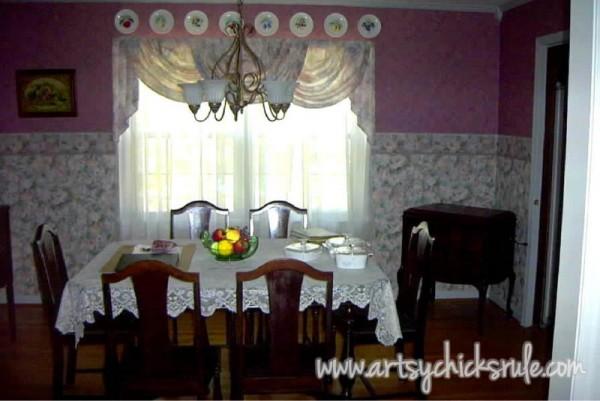 Dining Room - BEFORE - artsychicksrule.com
