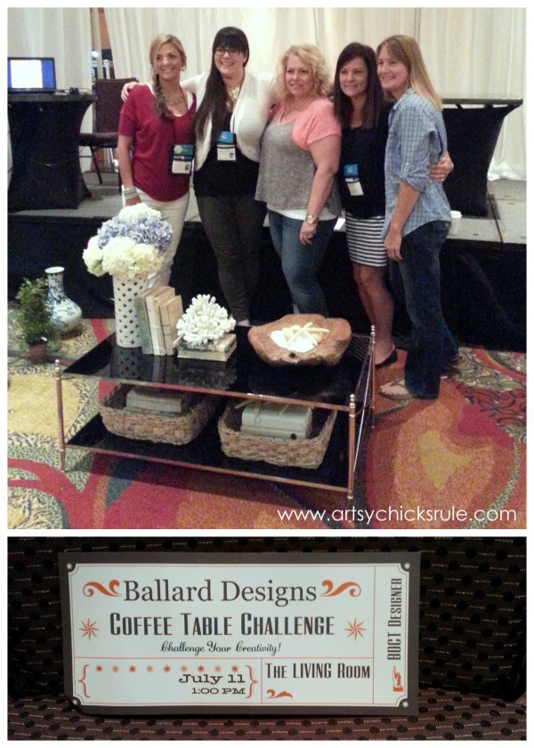 Haven Blogger's Conference 2014 - Ballard Coffee Table Challenge - artsychicksrule.com