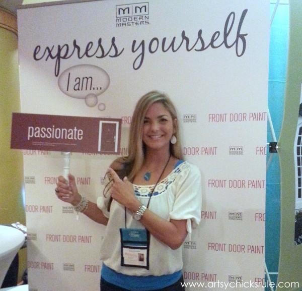 Haven Blogger's Conference 2014 - Modern Masters Booth - artsychicksrule.com