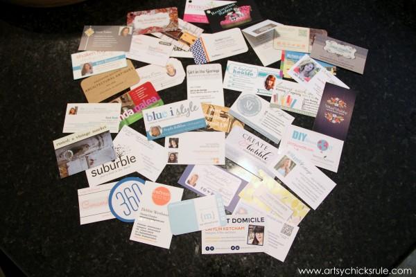 Haven Blogger's Conference - Business Cards - artsychicksrule.com