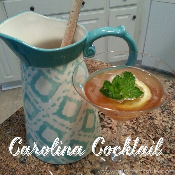 Charleston - Mount Pleasant - a trip in photos - Carolina Cocktail - artsychicksrule.com #firefly #southcarolina #charleston