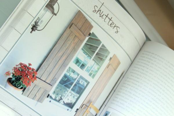 DIY Wood Pallet Book Review - Shutters