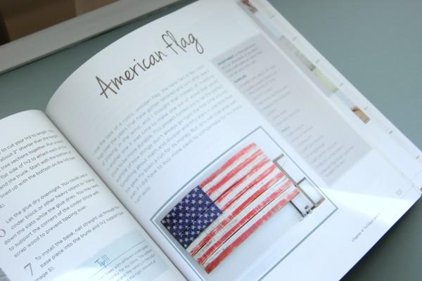 DIY Wood Pallet Book Review - Flag