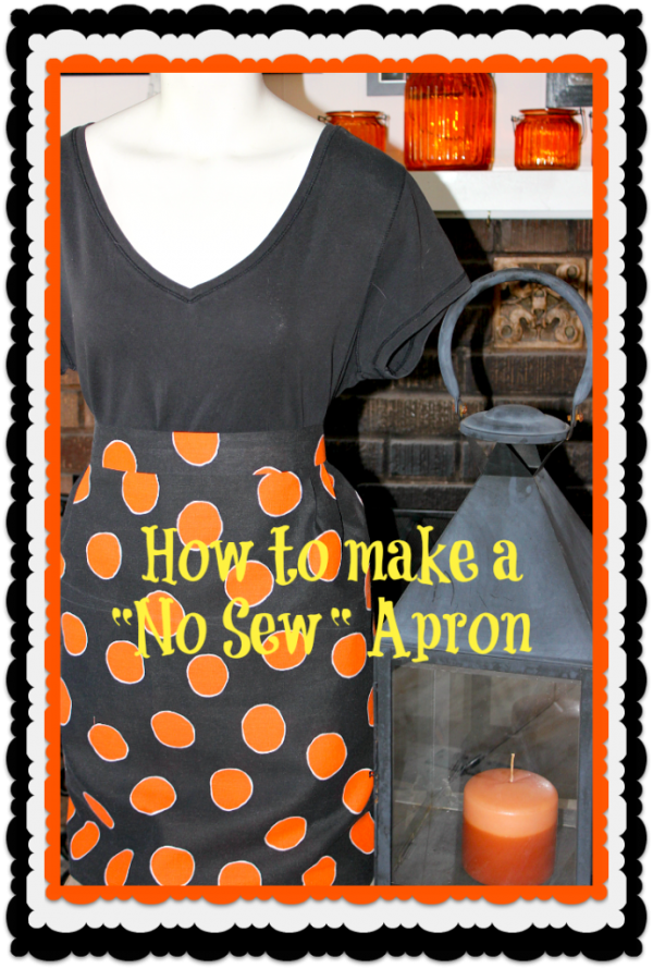 No Sew Apron - Concord Cottage
