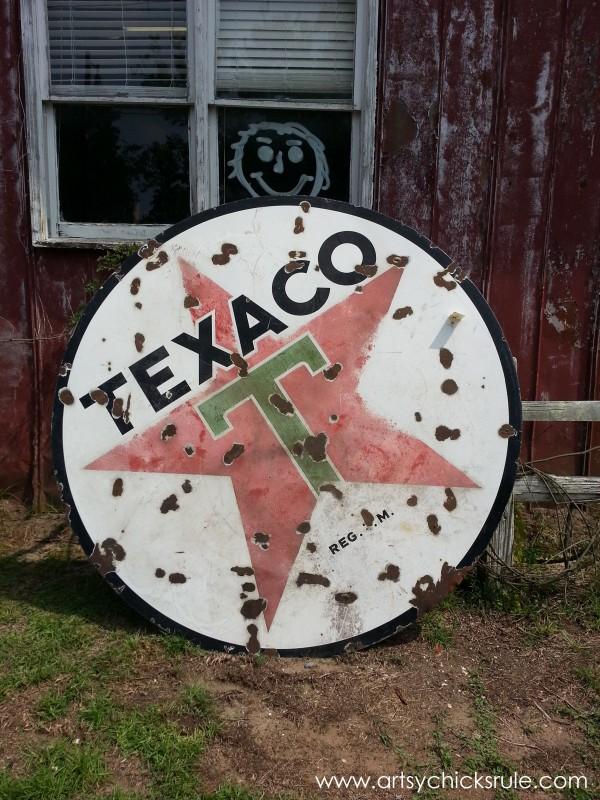 Page's Thieves Market - Texaco - Mt. Pleasant SC - #vintage #antiques artsychicksrule.com