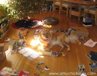 Lexi at Christmas - artsychicksrule.com