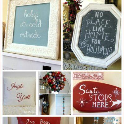 10+ DIY Thrifty Christmas Decor (anyone can do!)