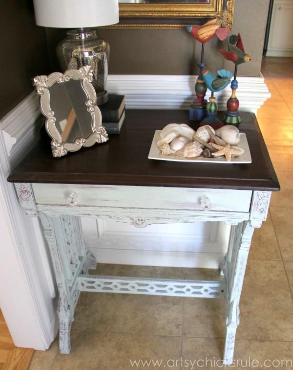 Shop Your Home - Decorating Challenge - #makeover #decor #decorating artsychicksrule.com