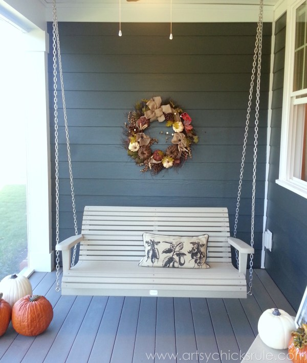 Homearama 2014- Suffolk - porch swing - artsychicksrule.com #homeplans #homedecor #decorations #interiordesign