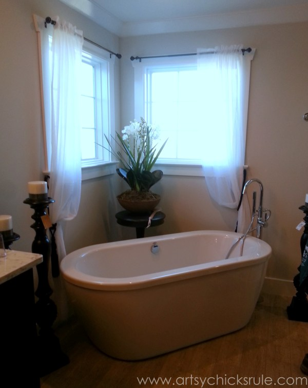 Homearama 2014- Suffolk - tub - artsychicksrule.com #homeplans #homedecor #decorations #interiordesign